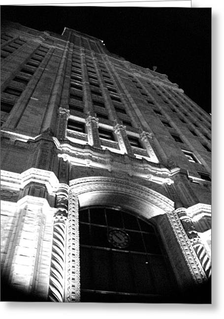 Architecture Greeting Card by Audrey Venute