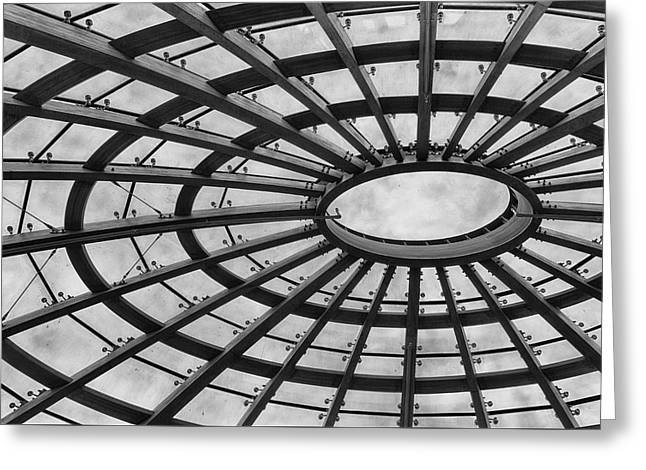 Architecture Bw 8x12 Greeting Card