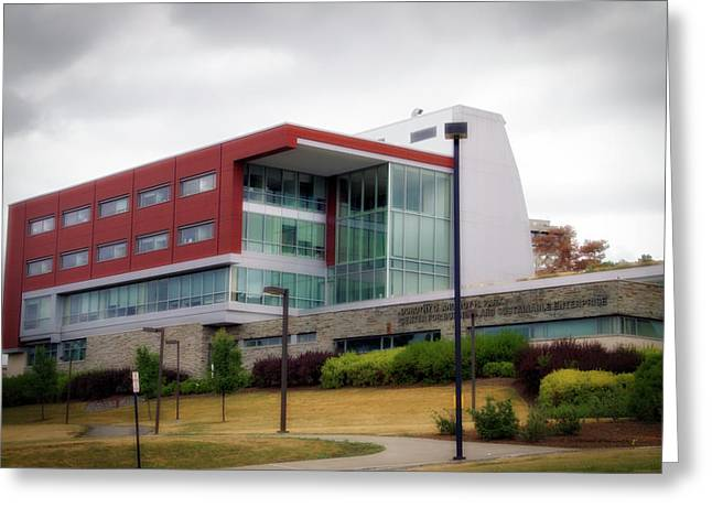 Architecture Ithaca College Ithaca New York 01 Greeting Card