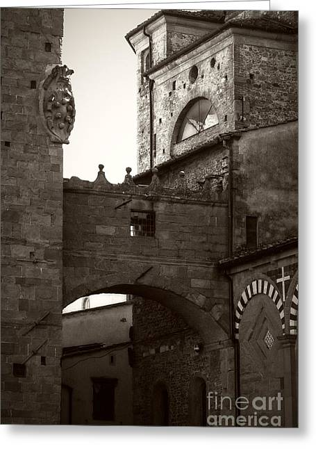 Architecture Of Pistoia Greeting Card