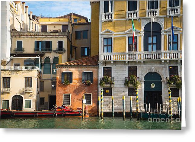 Architecture Of Venice - Italy Greeting Card