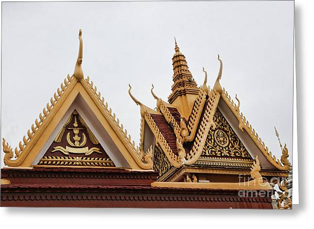 Architecture Royal Palace Greeting Card
