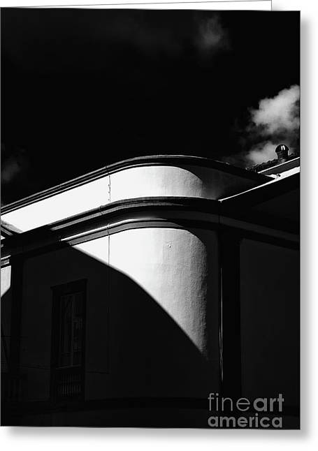 Architecture Shadow Light Game Greeting Card