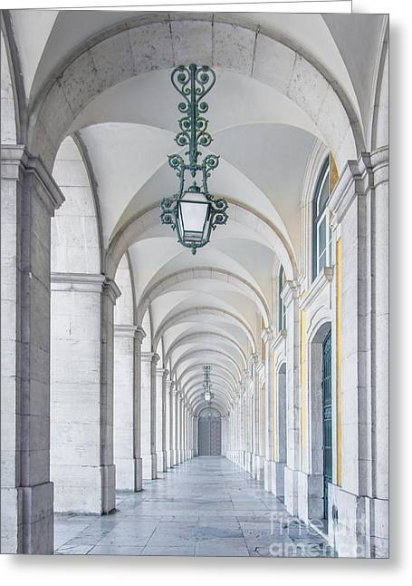Archway Greeting Card by Carlos Caetano