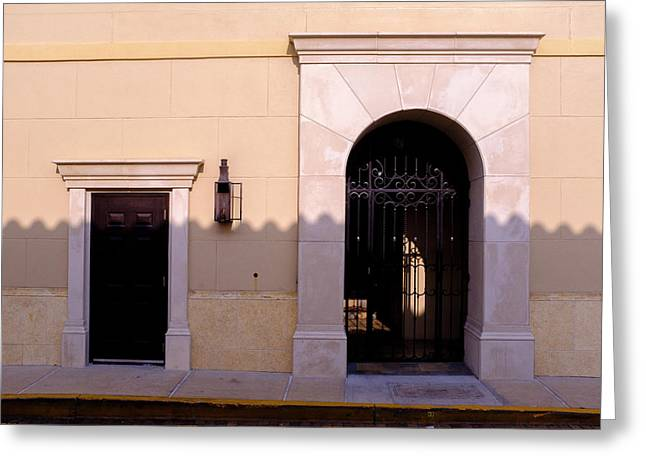 Archway In An Alley In Downtown Winter Park Florida Greeting Card