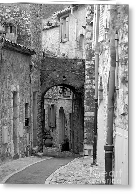 Archway In The Caslte Greeting Card