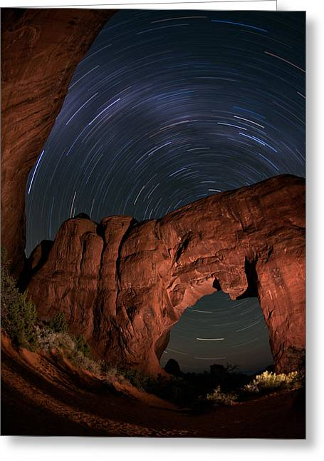 Archway Rotation Greeting Card by Mike Berenson