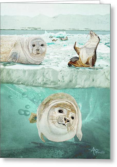Arctic Expedition Greeting Card