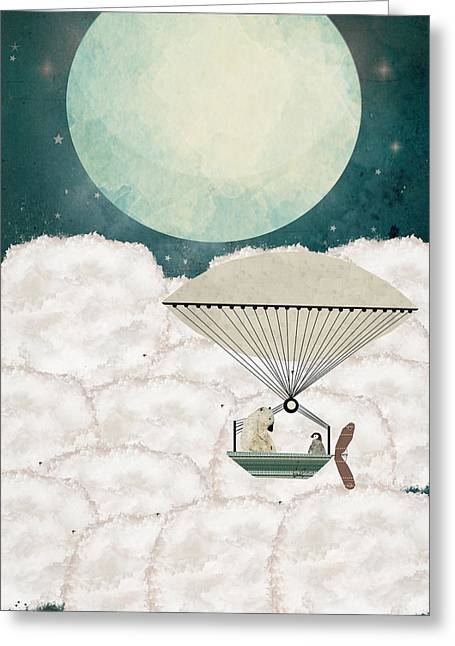 Arctic Explorers Greeting Card by Bri B