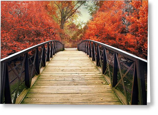 Ardent Autumn Greeting Card