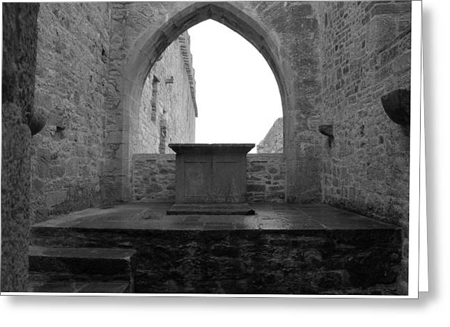 Ardfert Cathedral Greeting Card