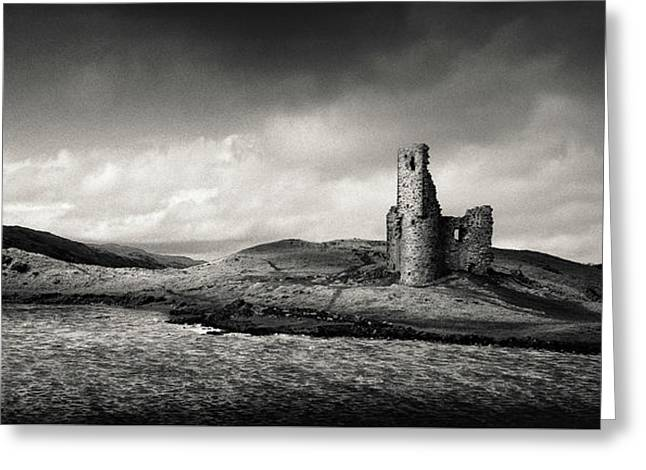 Ardvreck Castle Panorama Greeting Card
