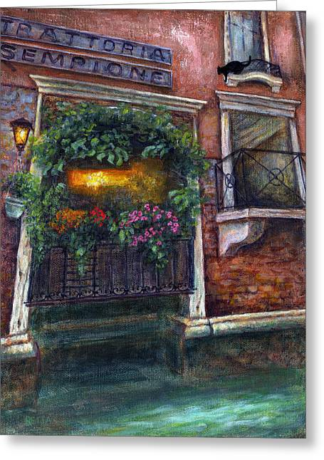 Are You There My Love? Greeting Card by Retta Stephenson
