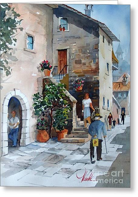 Arezzo-3 Greeting Card