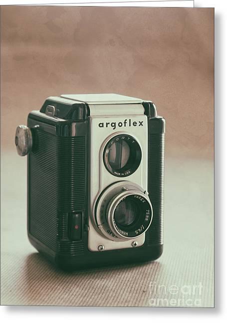 Greeting Card featuring the photograph Argoflex by Ana V Ramirez