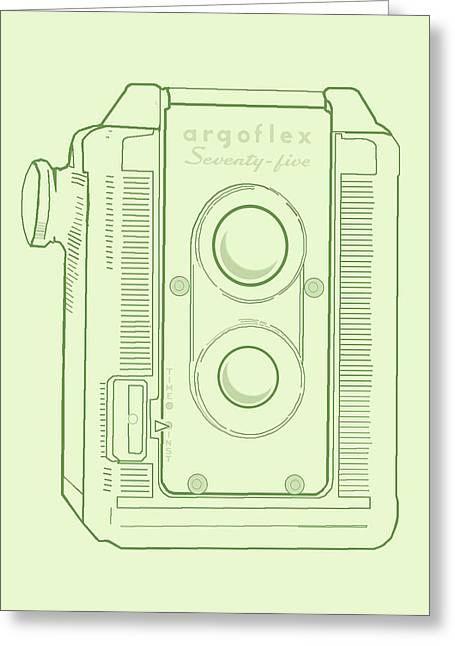Argoflex Green Greeting Card
