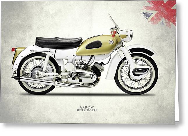 Ariel Arrow Super Sport Greeting Card by Mark Rogan