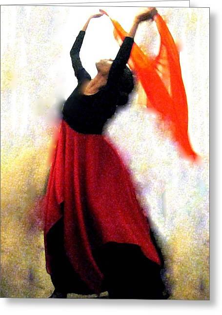 Arise And Shine Greeting Card by Linda Harris-Iorio