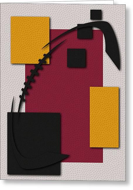 Arizona Cardinals Football Art Greeting Card by Joe Hamilton