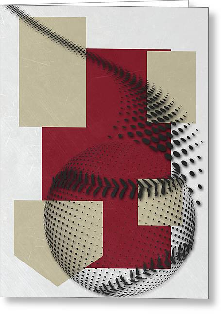 Arizona Diamondbacks Art Greeting Card by Joe Hamilton