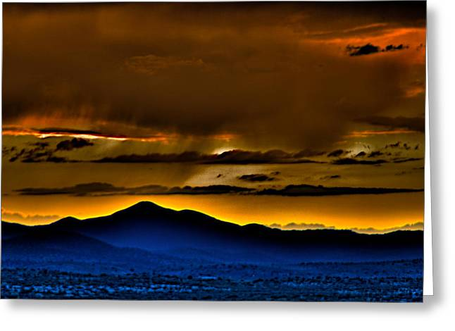 Arizona Dusk Greeting Card