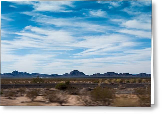 Greeting Card Featuring The Photograph Arizona Highways By Kimberly  Valentine