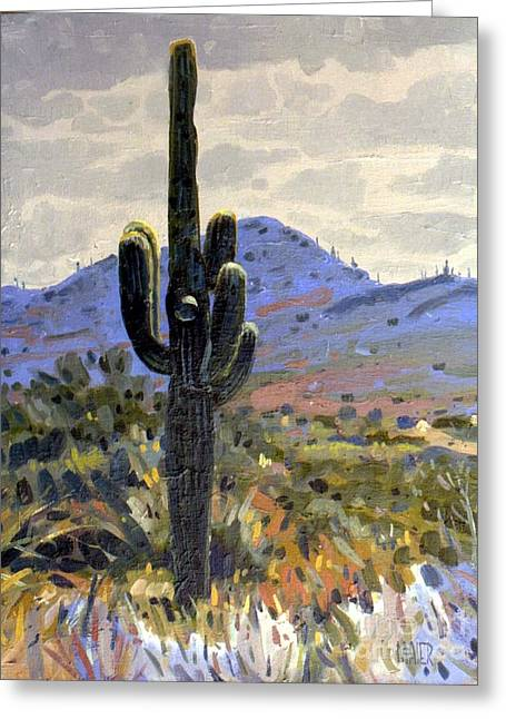Arizona Icon Greeting Card by Donald Maier