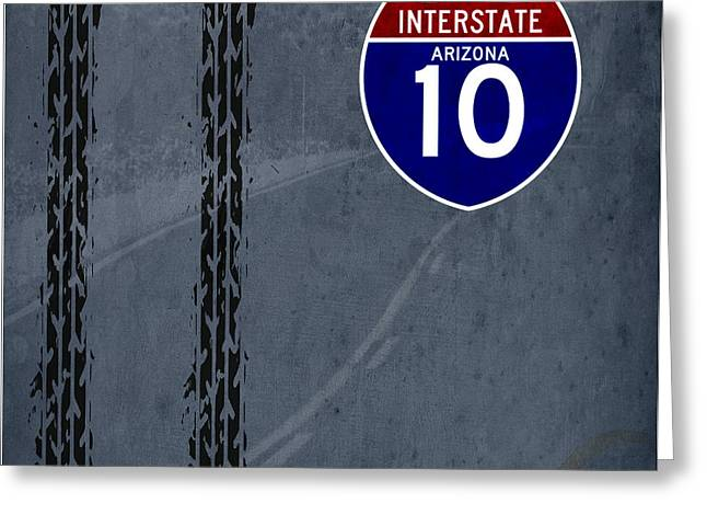 Arizona, Interstate 10, Hot Wheels Greeting Card