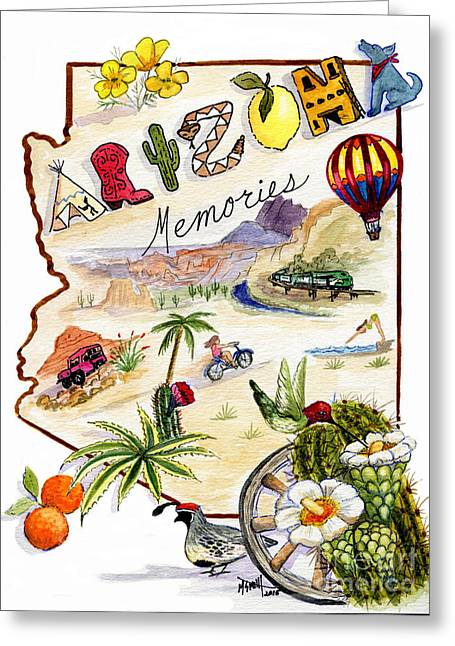 Arizona Memories Greeting Card