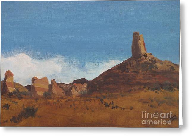 Arizona Monolith Greeting Card