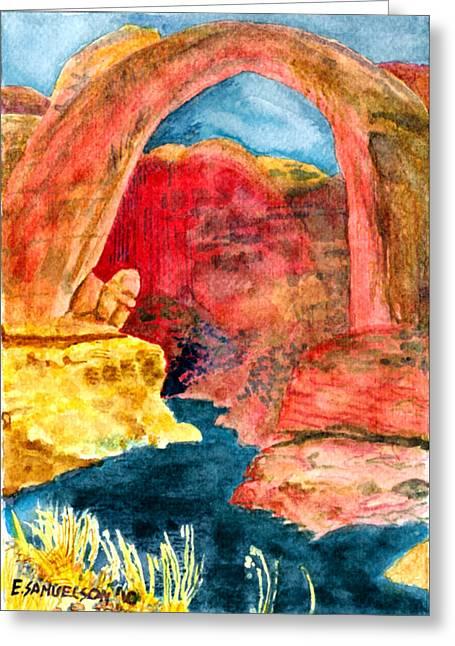 Arizona Rainbow Greeting Card