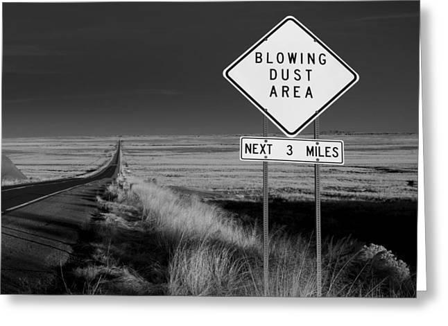Arizona Road Greeting Card