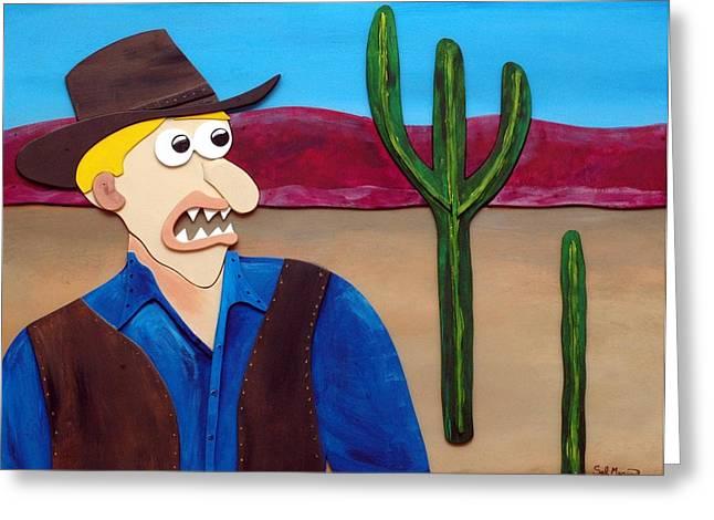 Sal Marino Greeting Cards - Arizona Greeting Card by Sal Marino