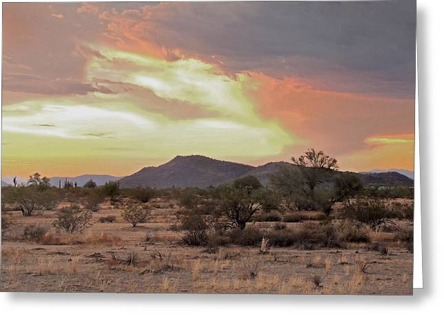 Arizona Skies Greeting Card