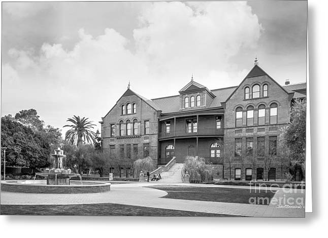 Arizona State University Old Main Greeting Card by University Icons