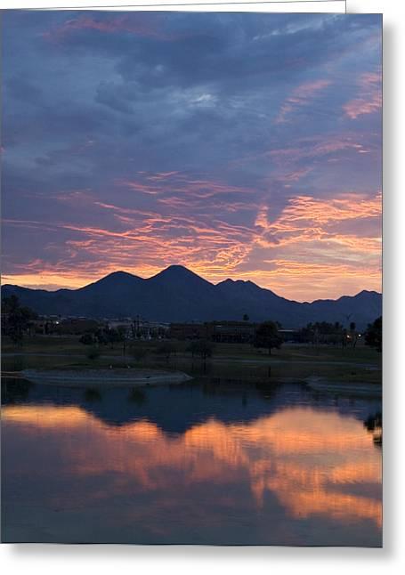 Arizona Sunset 2 Greeting Card