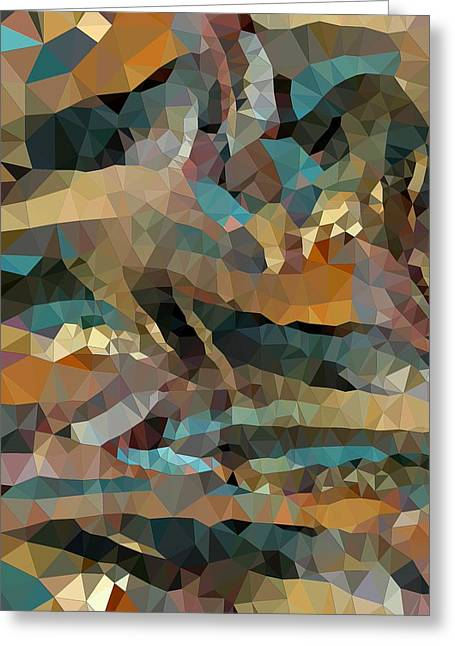 Arizona Triangles Greeting Card