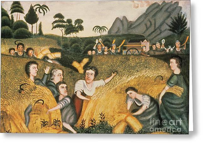 Ark Of The Covenant Greeting Card by Erastus Salisbury Field