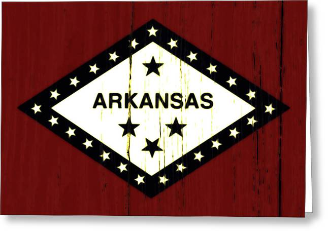 Arkansas 1w Greeting Card