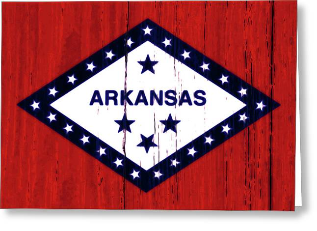 Arkansas 2w Greeting Card
