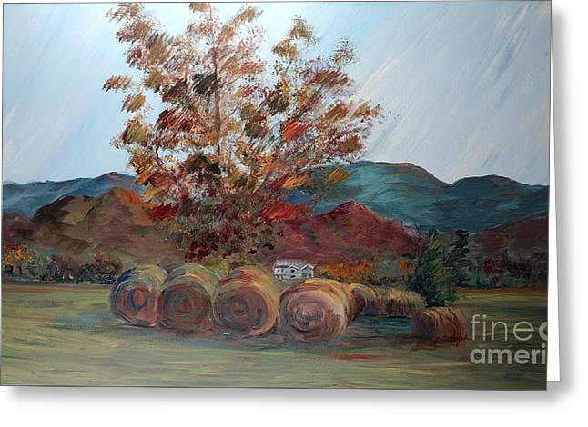 Arkansas Autumn Greeting Card by Nadine Rippelmeyer