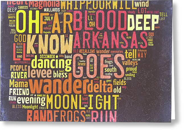 Arkansas - Ozark Mountains Greeting Card