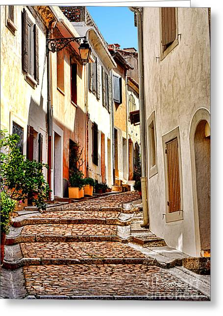 Arles Greeting Card by Olivier Le Queinec