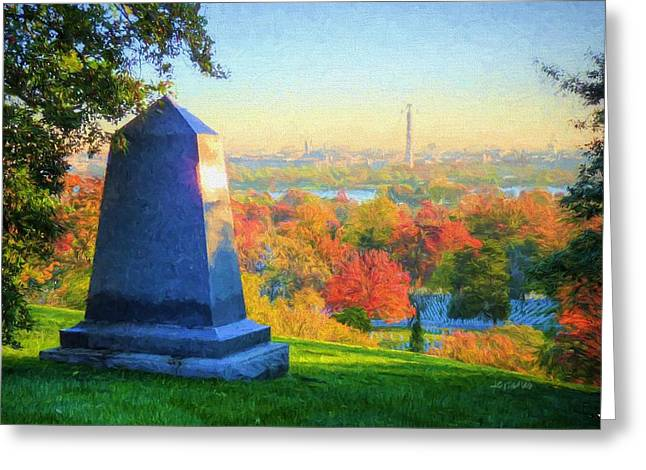 Arlington  Greeting Card by JC Findley
