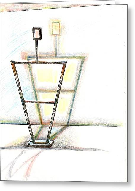 Armature Greeting Card by Al Goldfarb