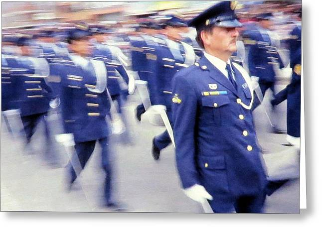 Armed Forces Of Colombia 12 Greeting Card