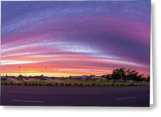 Armijo Sunset Greeting Card