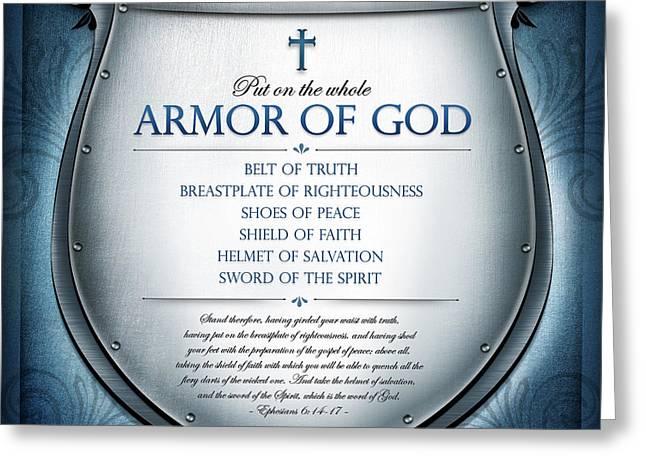 Armor Of God Greeting Card
