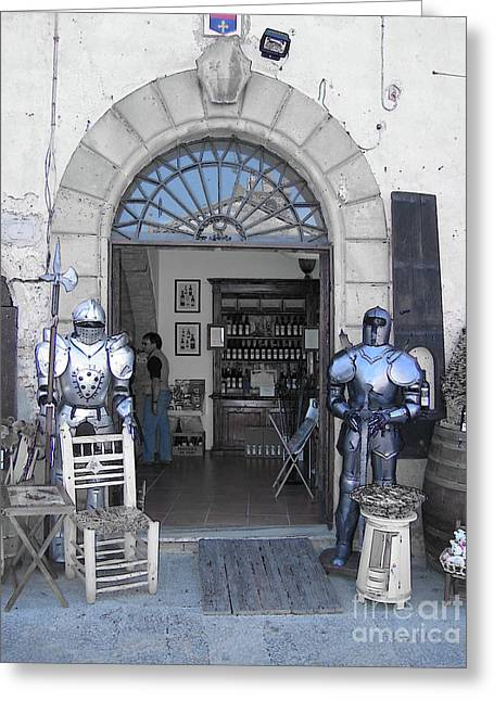 Armored Guards Greeting Card
