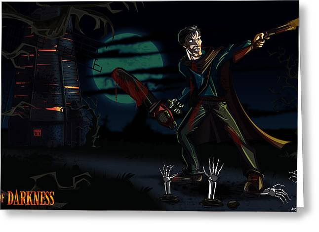 Army Of Darkness Greeting Card by Jason Diesbourg